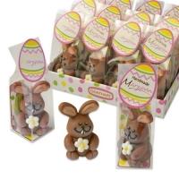 12 pcs Marzipan rabbits in cellophane bag