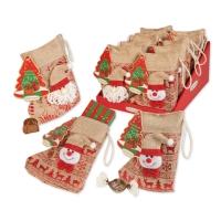 Christmas stocking, asstd.