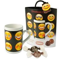 Emoticon cup