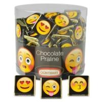 2 pcs Napolitans  Emoticons  (with nougat cream filling)