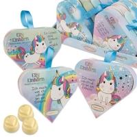 16 pcs Heart praline gift  Elly Einhorn  with pralines