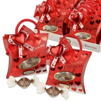 10 pcs Praline bags  For you , filled with pralines