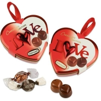 8 pcs Metal heart Love, large