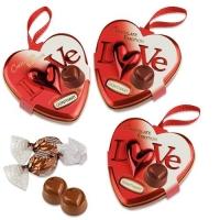 12 pcs Metal heart Love, medium