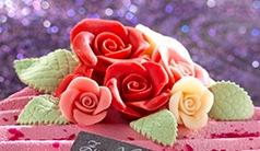 Roses & Leaves