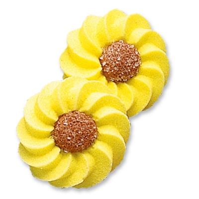 100 pcs Yellow daisies