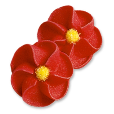 100 pcs Red flowers